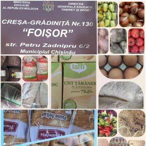 Alimentarea variată în IET nr.130, str. P. Zadnipru, 6/2 este esenţială în creşterea sănătoasă a copilului